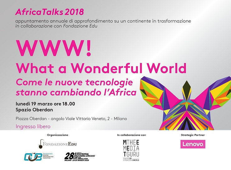 Www what a wonderful world come le nuove tecnologie for Come prendere in prestito denaro per comprare terreni