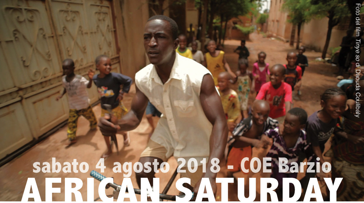 COE_African Saturday - 4 Agosto 2018 Barzio